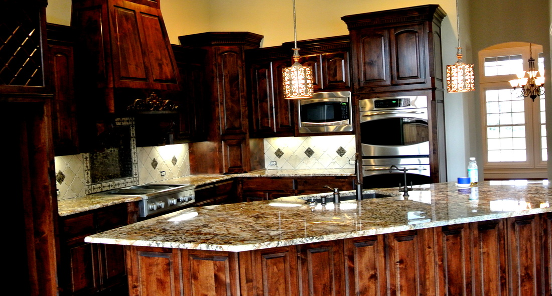 Granite 3cm Mascarello Countertops With Dupont Edge And Under Mount Stainless Steel Sink